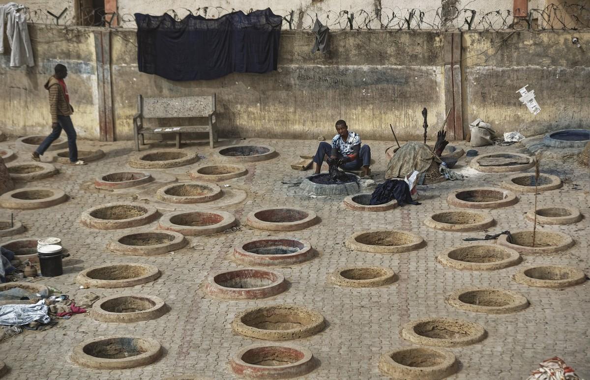 Старые красильные ямы в Нигерии