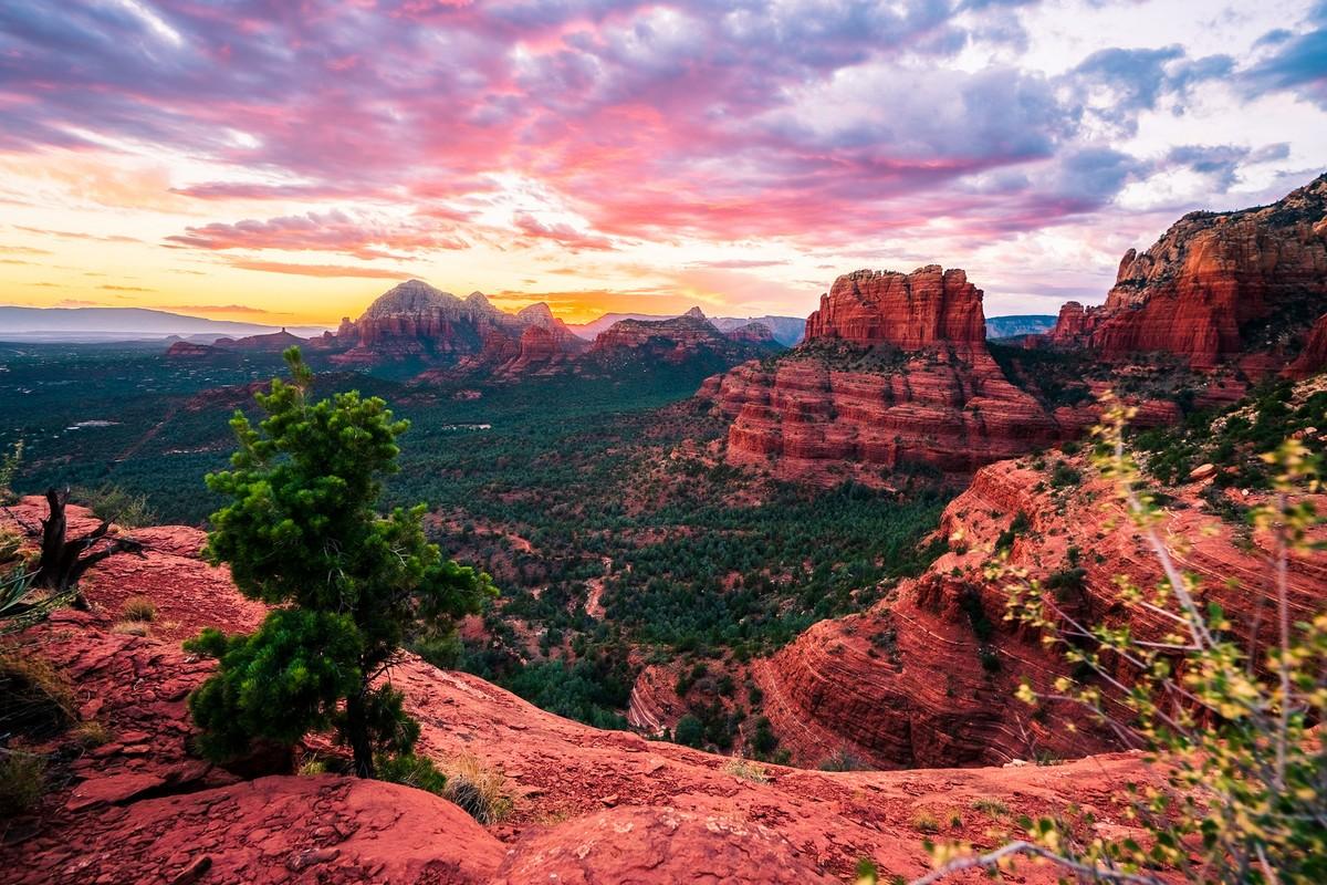 Захватывающие природные пейзажи Аризоны от Джона Ллойда