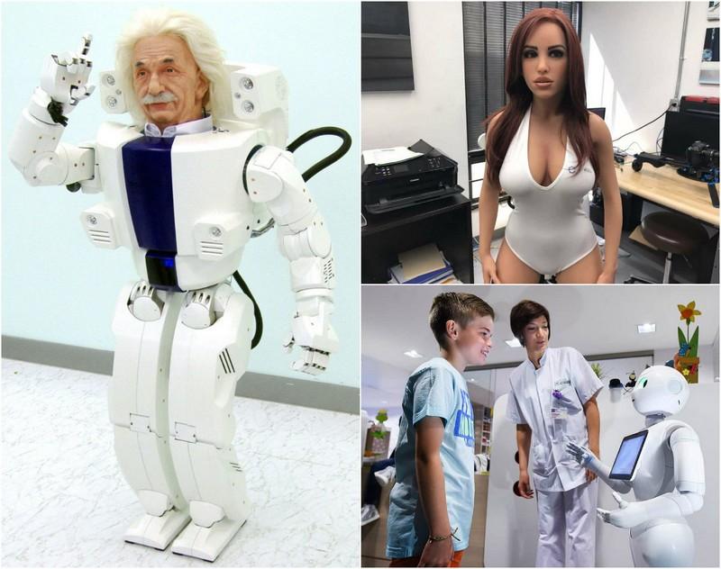 10 самых необычных роботов