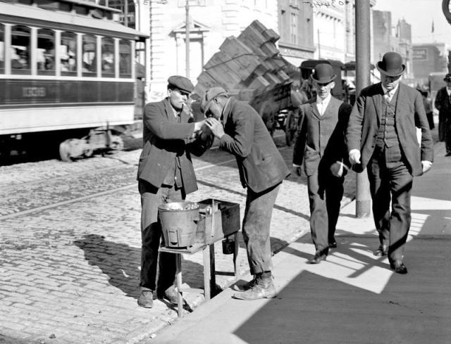 Архивные снимки винтажной Америки