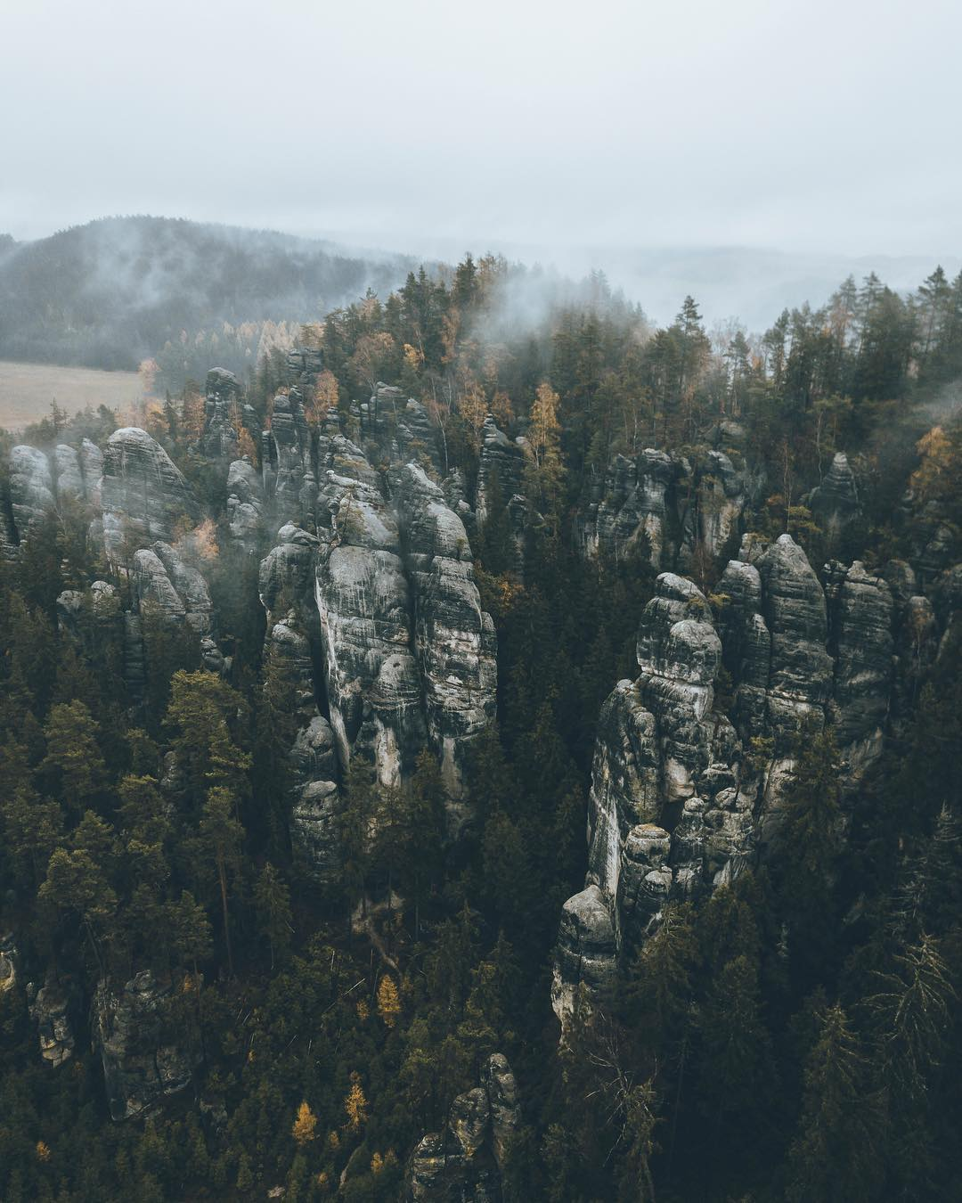 Чехия с высоты на аэрофотоснимках Яна Валечки