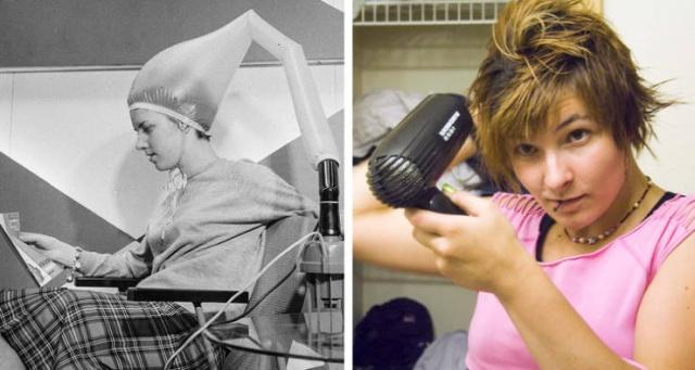 Гаджеты и процедуры для женщин: тогда и сейчас