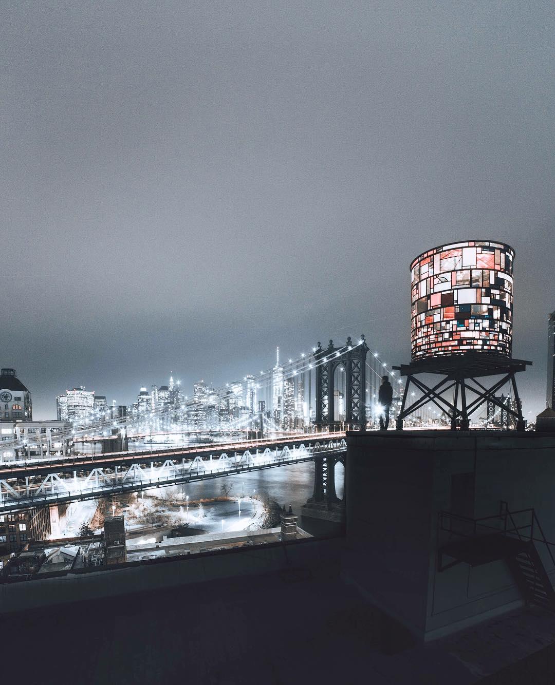 Городские снимки Нью-Йорка от Лиама Торреса