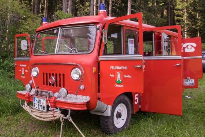 Jeep Forward Control — «Буханка» из США на службе в пожарке