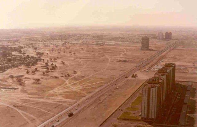 Как с годами изменились крупные города мира