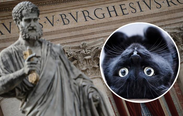Католическая церковь не любила котов в Средние века