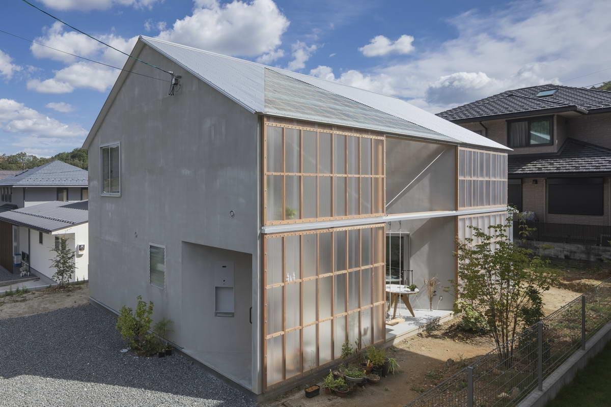 Необычный Z-образный дом в Японии