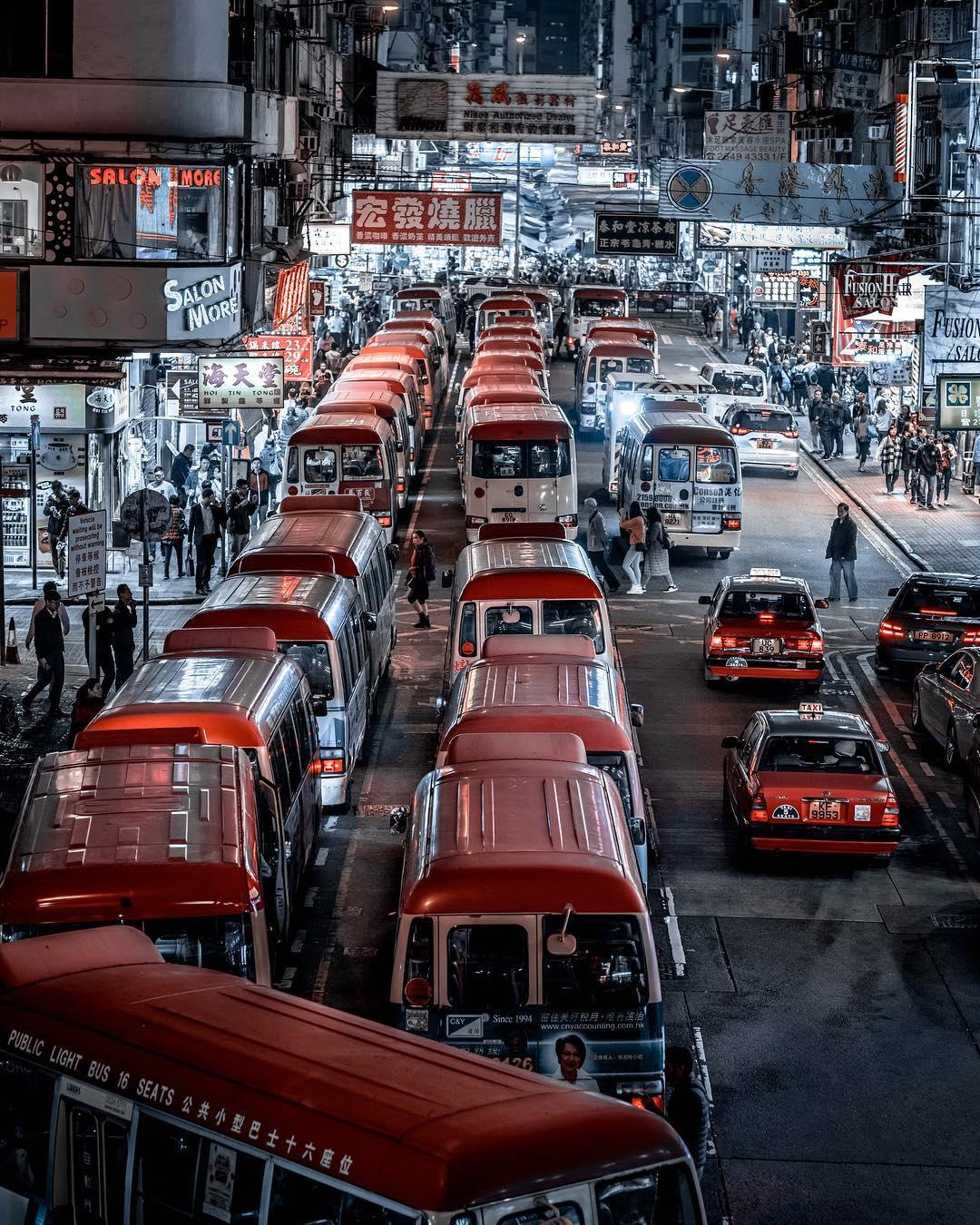 Потрясающие городские фотографии от Джеффа Денга