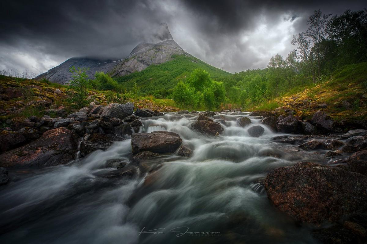 Природные пейзажи Норвегии на снимках Кима Дженссена