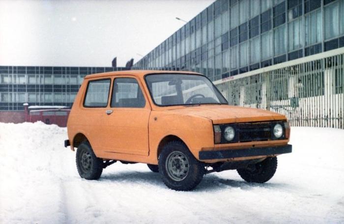 Прототип «Иж-14» — первый советский кроссовер