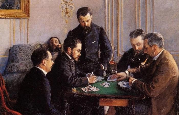 Русские классики и тяга к карточным играм