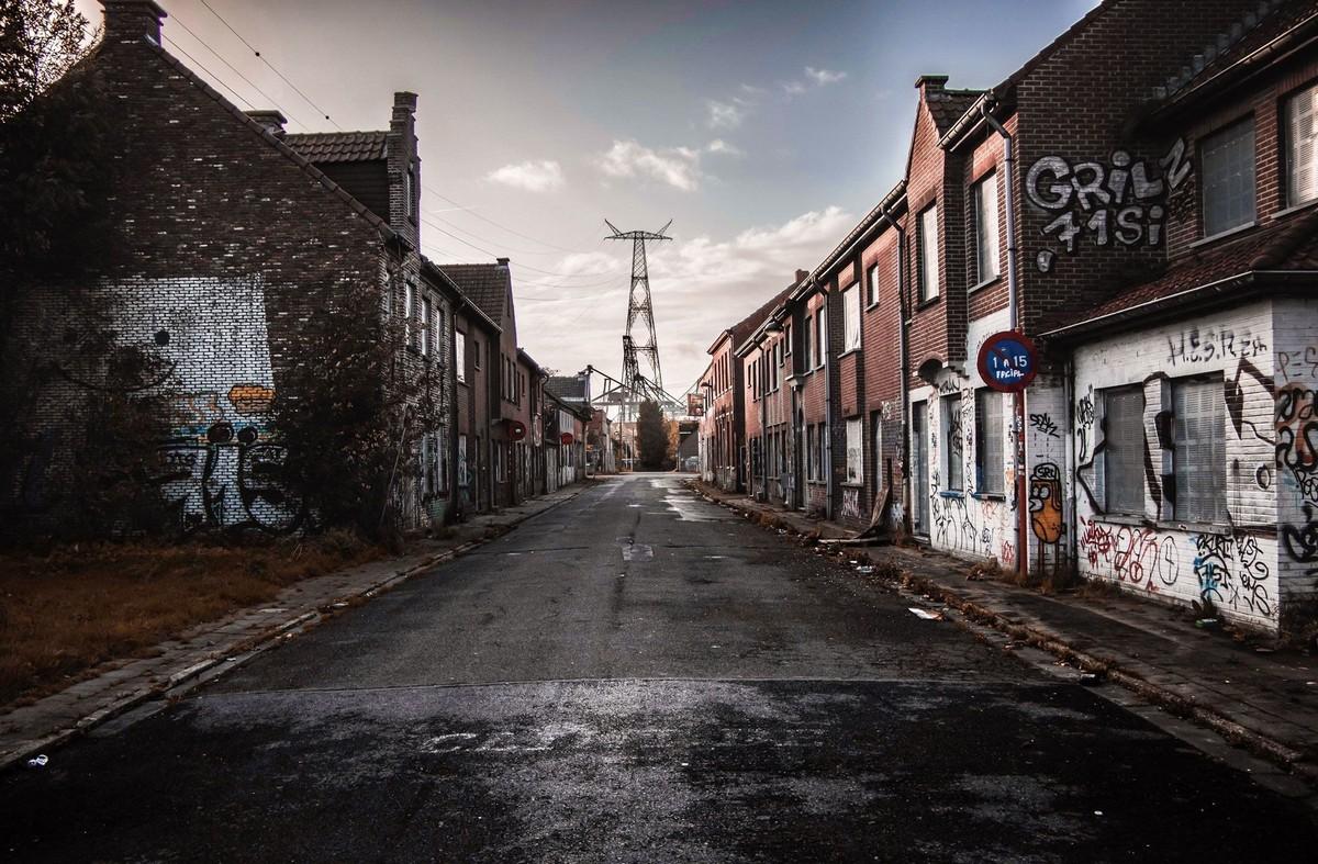 Снимки плохих бельгийских дорог в фотокниге