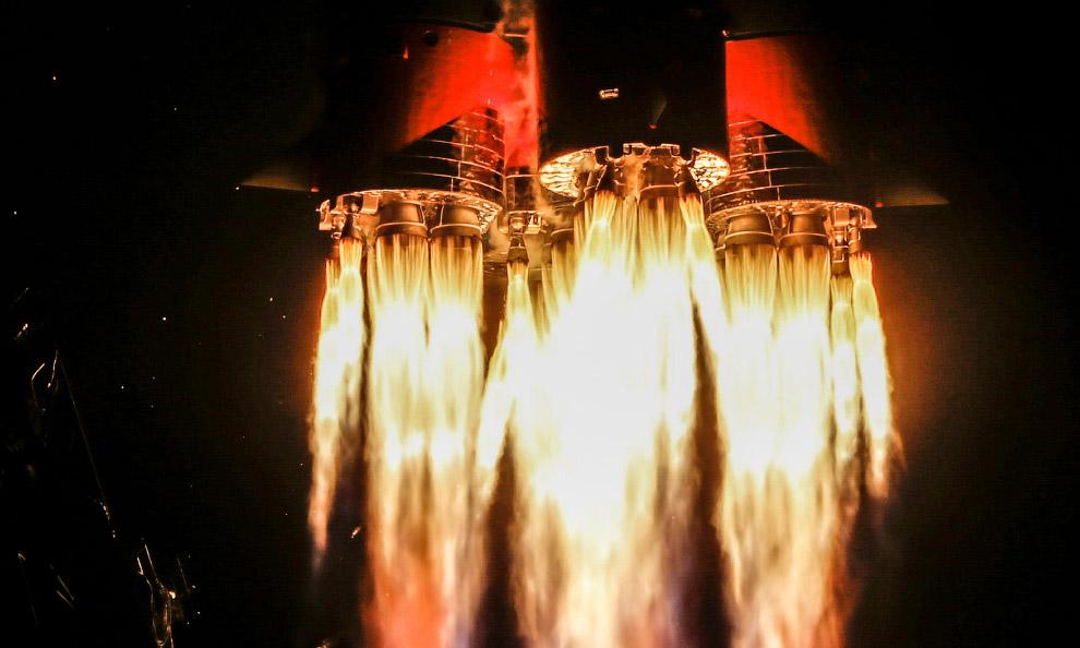 Старты космических кораблей в объективе