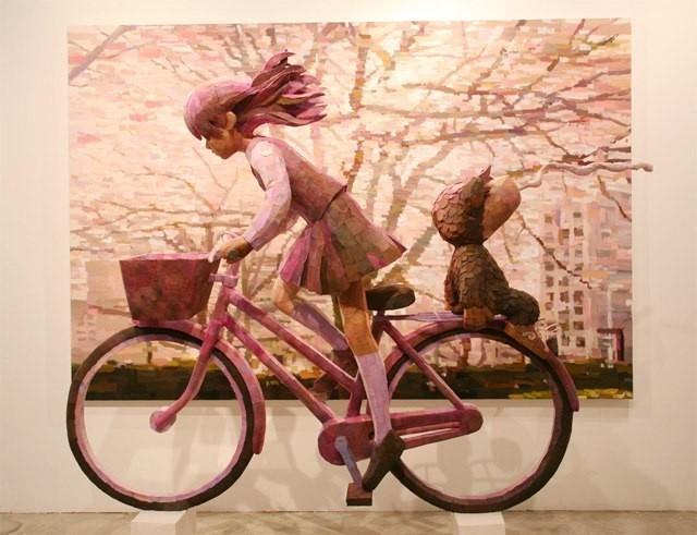 Трехмерные картины японского художника Шинтаро Охата