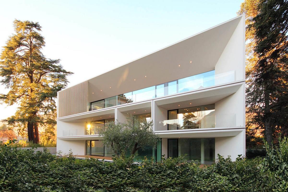 Трёхэтажный жилой дом в Италии