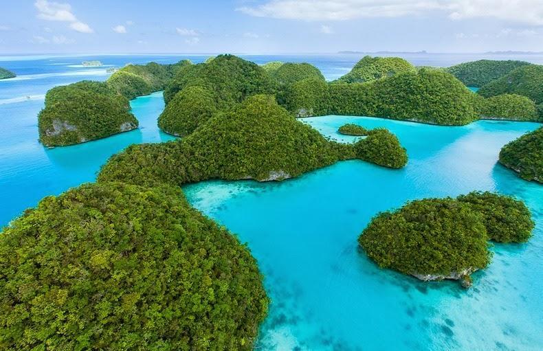 Удивительные коралловые острова Палау