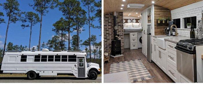 Уютные дома на колесах для путешествий: снаружи и внутри
