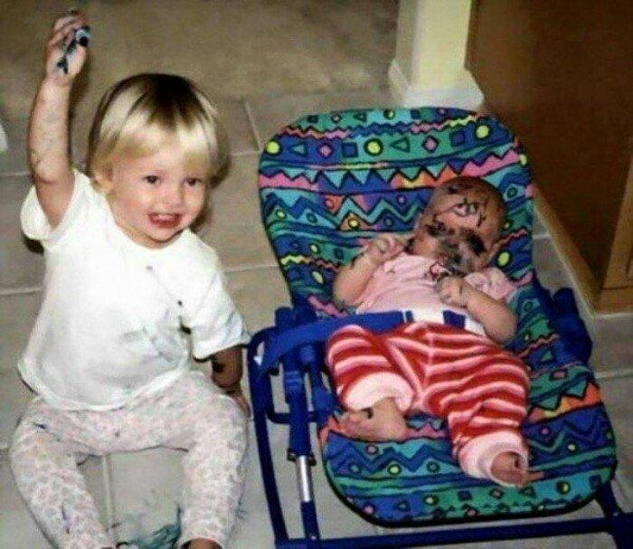 25 детишек, которые точно любят пошалить
