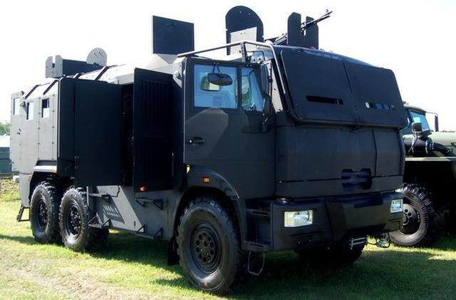 Бронеавтомобиль «Горец-ССН», созданный по заказу Росгвардии