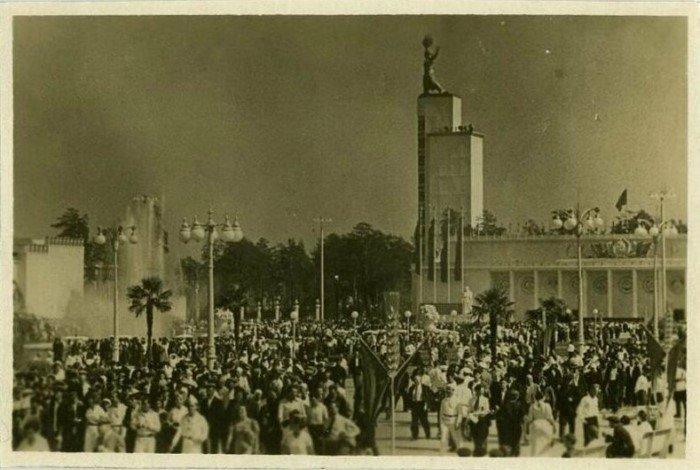 Интересные архивные снимки ВДНХ