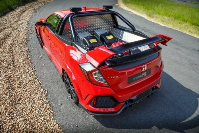 Интересный пикап из Honda Civic Type R
