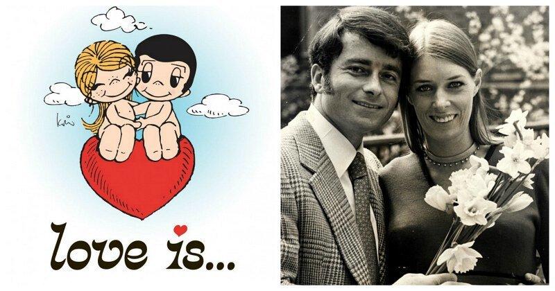 История создания комиксов «Love is…»
