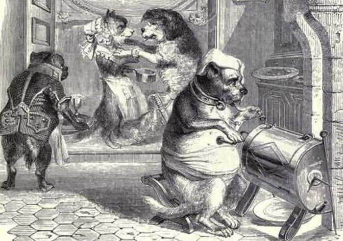 Особенности «собачьей работы» в прошлом