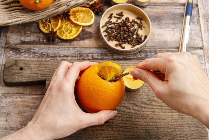Применение апельсиновых корок в хозяйстве