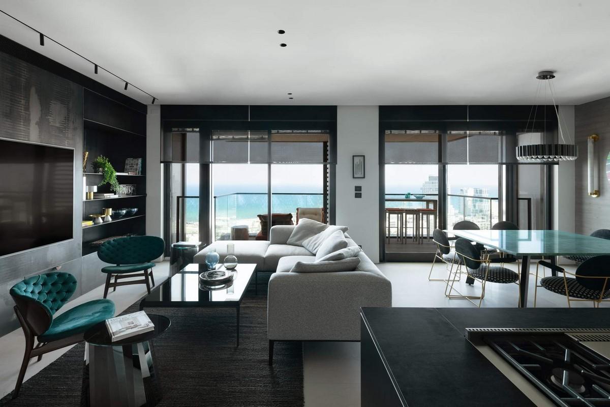 Роскошные апартаменты на берегу моря в Израиле