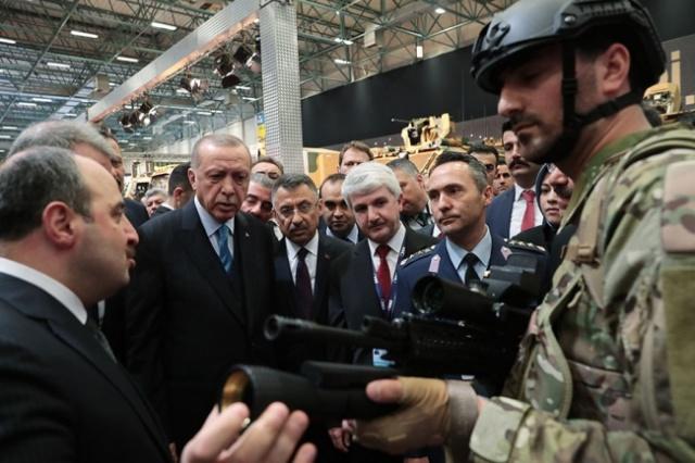 Турция показала новейшее лазерное оружие TÜMOL