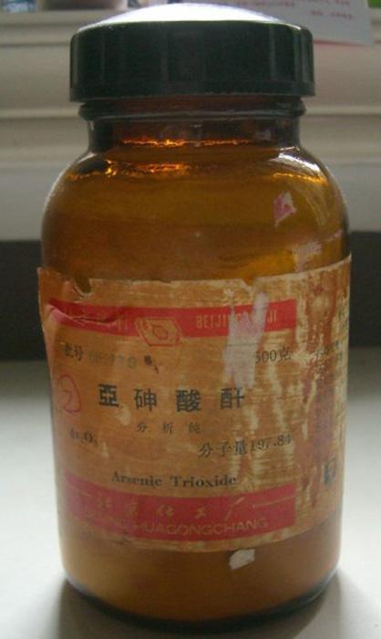 В XIX веке мышьяк использовали как лекарство
