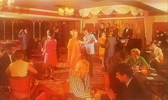 Атмосфера американских баров и лаунджей 50-х и 60-х годов