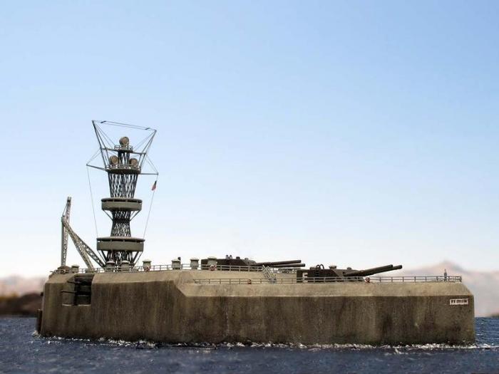 Бетонный линкор — остров Эль-Фрейл