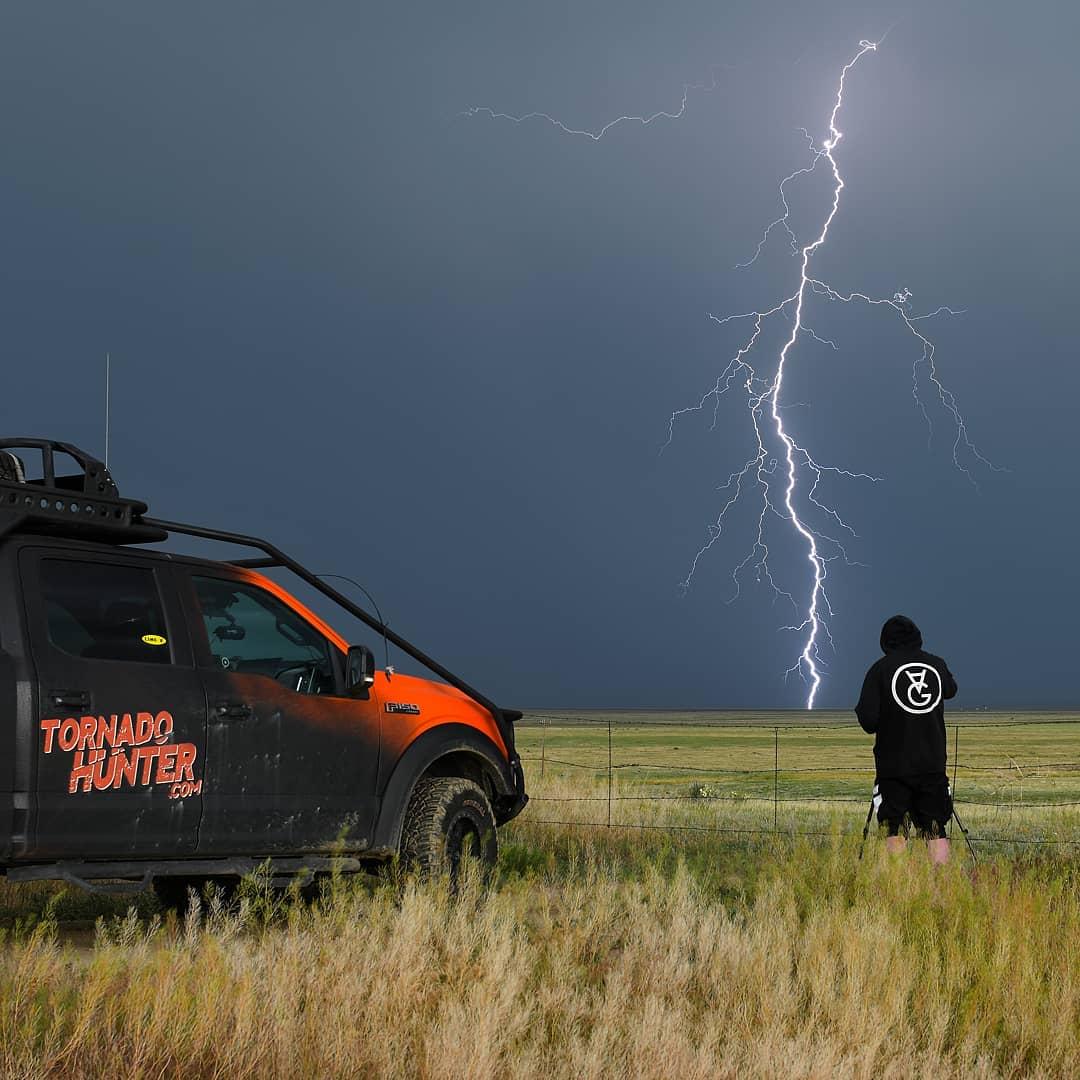 Грег Джонсон — охотник за штормами и торнадо