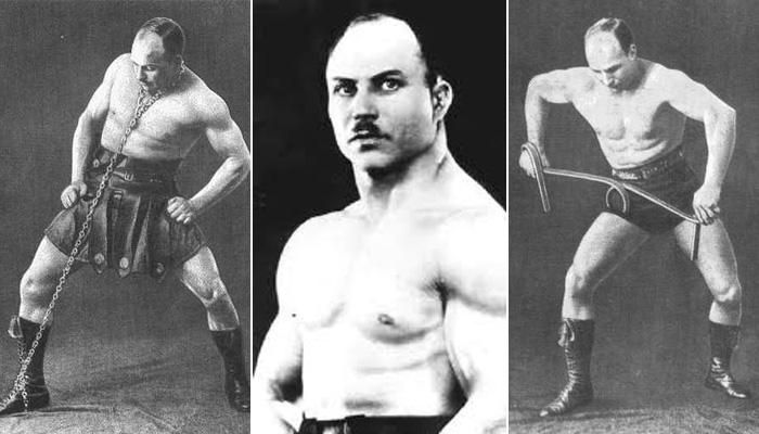 История знаменитого русского силача Александра Засса