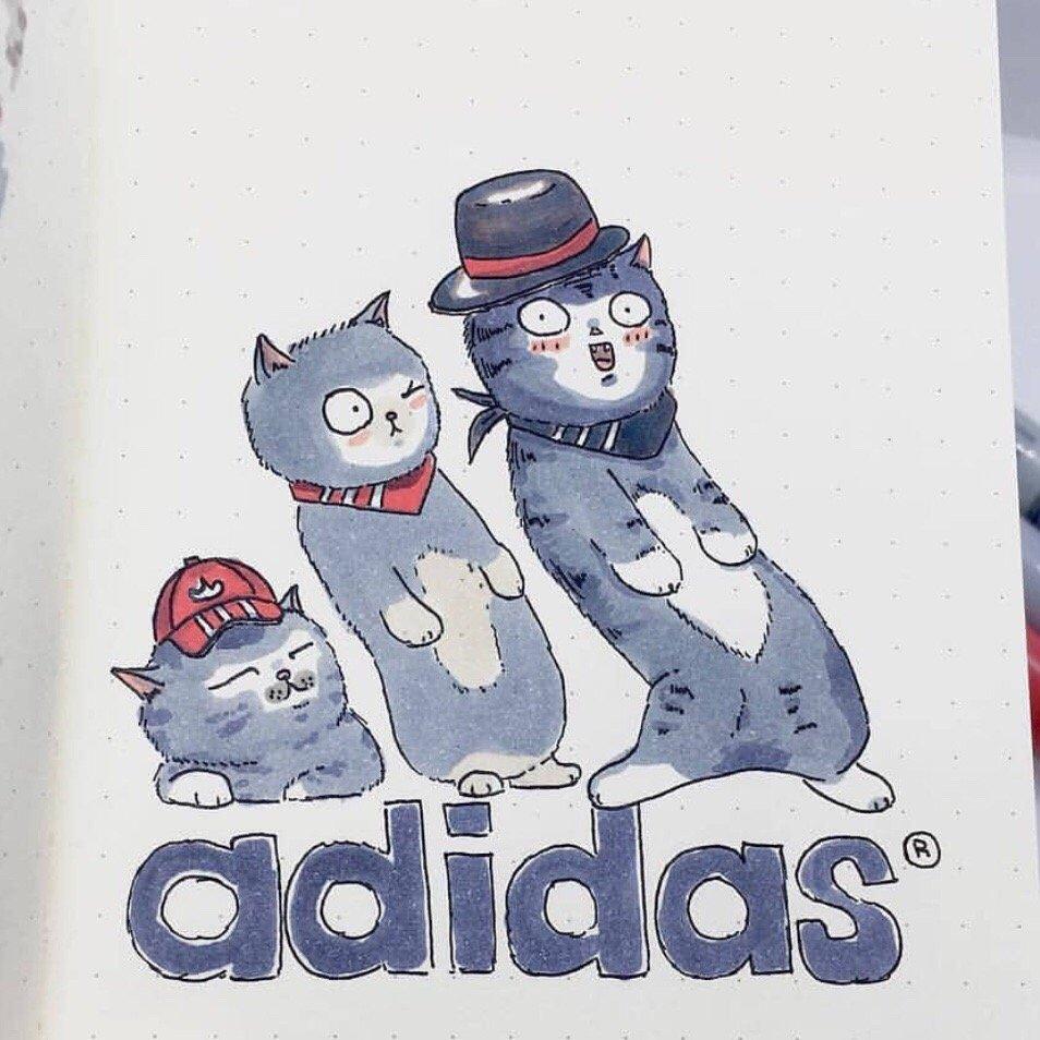 Известные логотипы с котиками выглядят привлекательнее