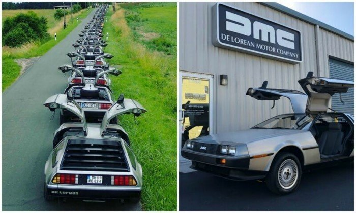 Легендарные и нестареющие автомобили DeLorean DMC-12