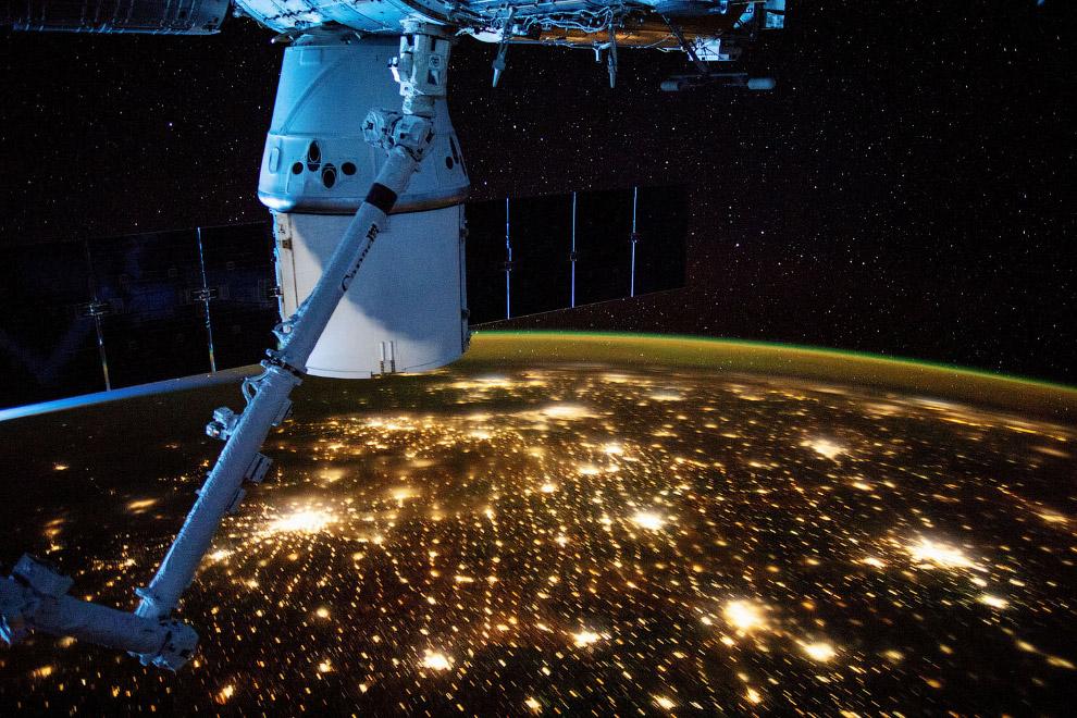 Последние снимки с орбиты Земли
