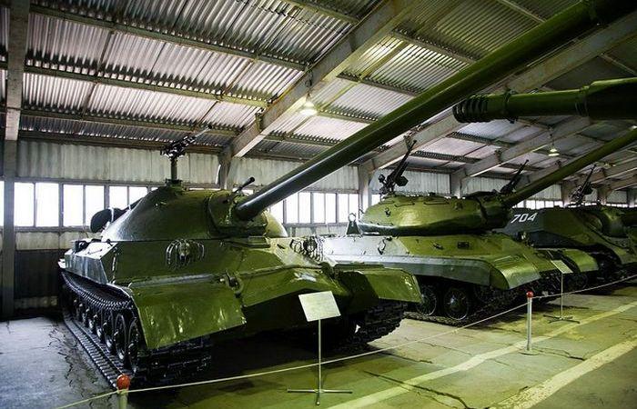 Редкие танки Советского Союза