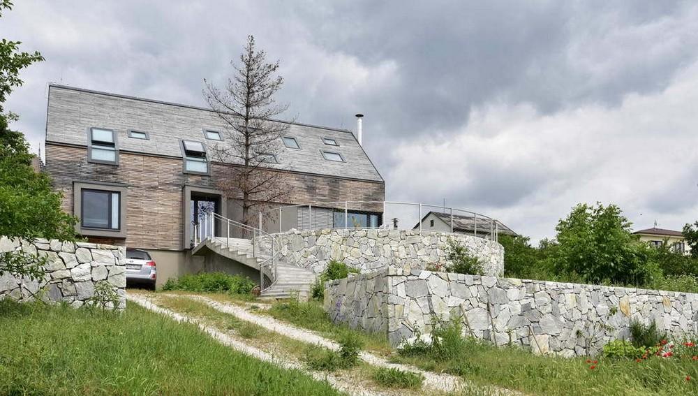 Реконструкция семейного дома в Словакии