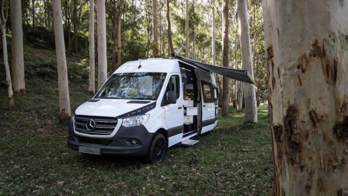 В Австралии создали автодом на базе Mercedes Sprinter