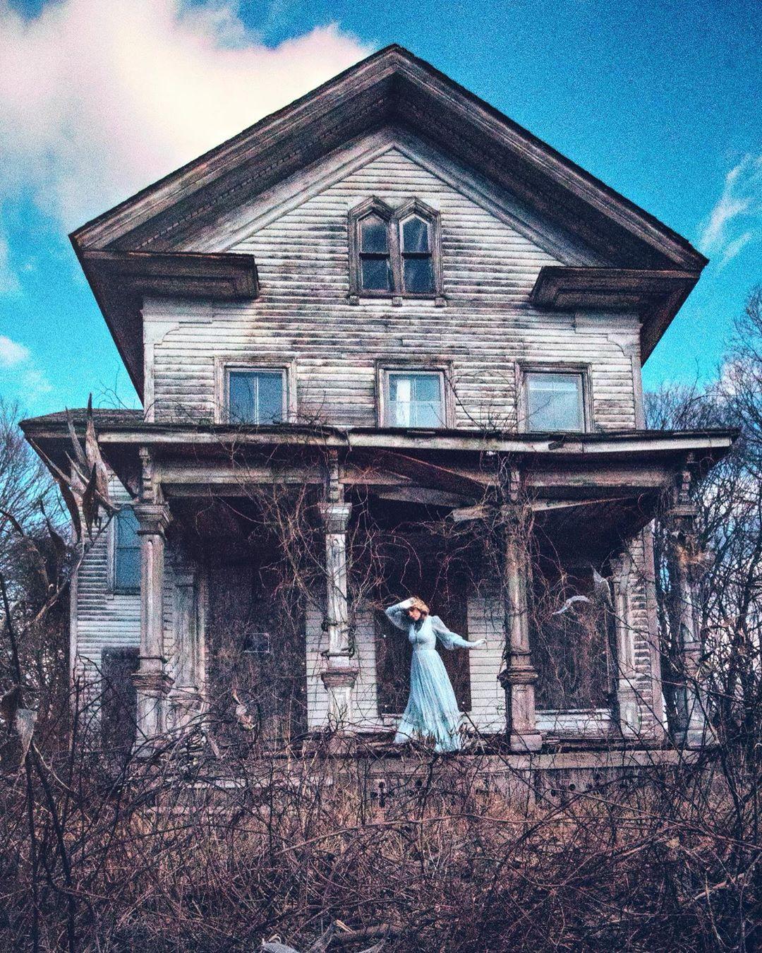 Заброшенная Америка на снимках Тессы Александры Ши