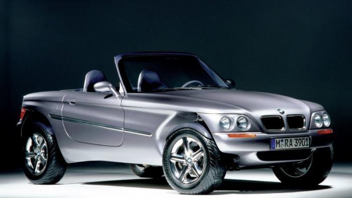 1995 BMW Z18: забытые концепт-кары