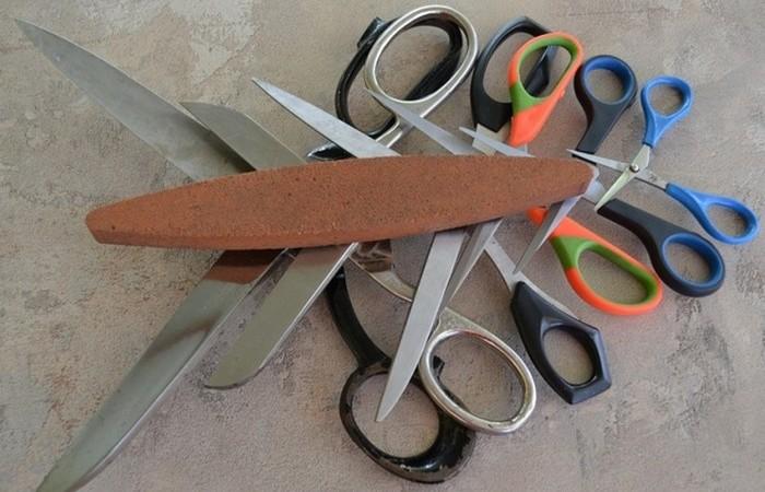 Быстрые способы подточить ножницы