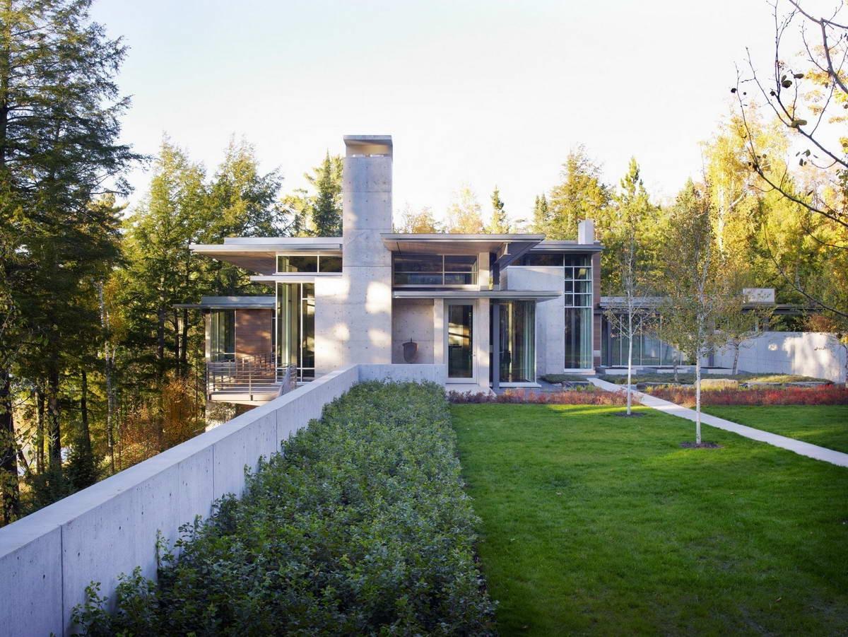 Дом с видом на природу в США