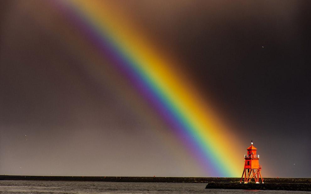 Красота радуги на снимках