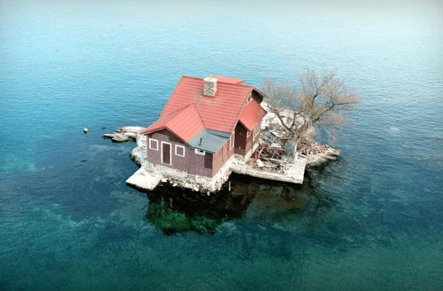 Маленький островок, где можно отдохнуть от забот и городской суеты