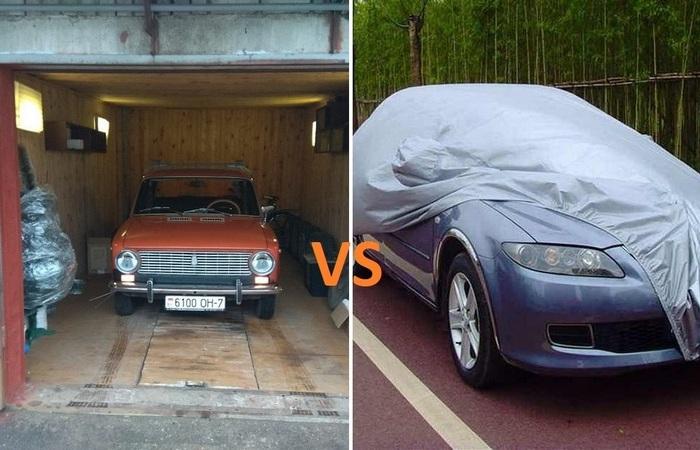 Минусы долгого простаивания машины в гараже