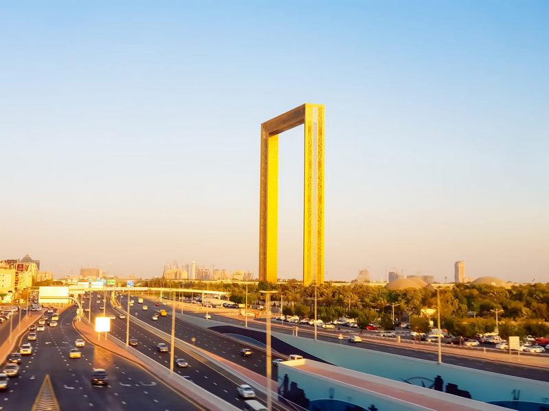 Необычная достопримечательность Дубая