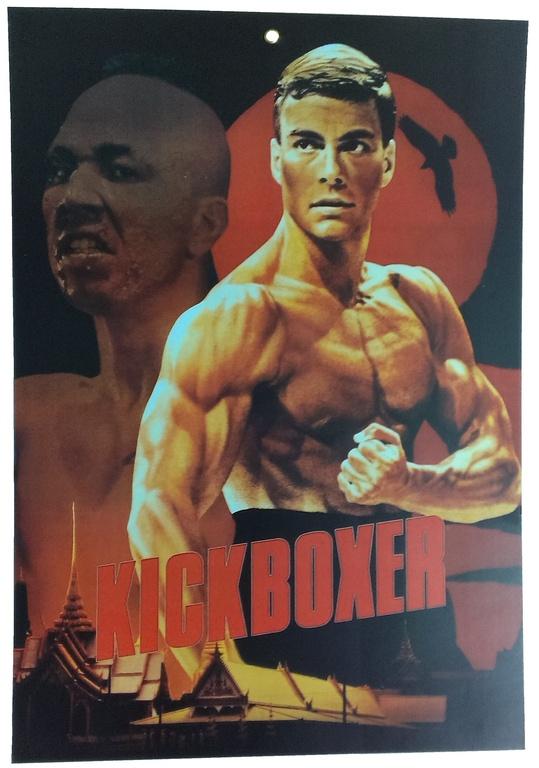 Плакаты с героями боевиков 80-х — 90-х годов